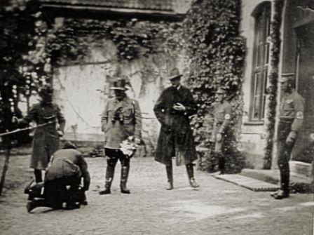 Hermann Göring na polowaniu w Prawicach