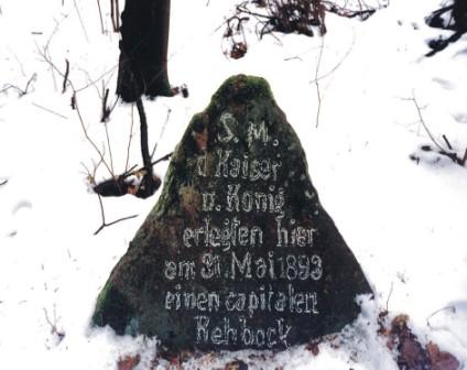 Fotografie cesarskich kamieni - Kamienie Wilhelma - Andrzej Czapliński